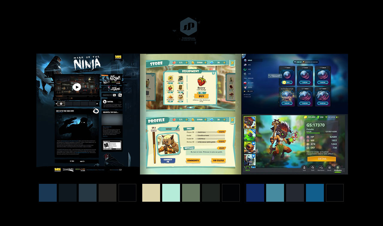 mobile-game-interface-design-ui-ux-concept-gameart-gameinterface-screen-moodboard-B